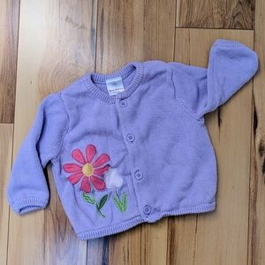 Hanna Andersson baby sweater - size 3-6mo (60)
